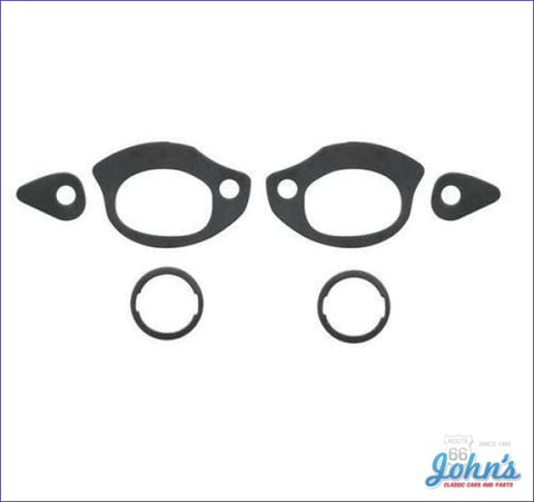 Door Handle And Lock Gasket Kit- 4Pc A X F1