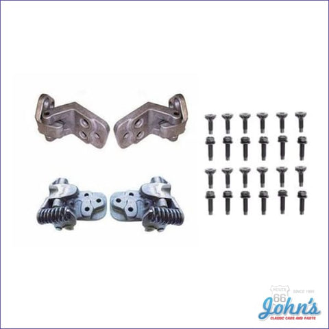 Door Hinge And Bolt Kit A