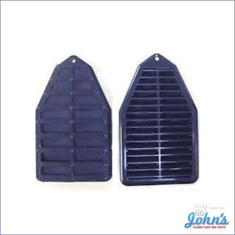 Door Jamb Vents With Valves. Pair A