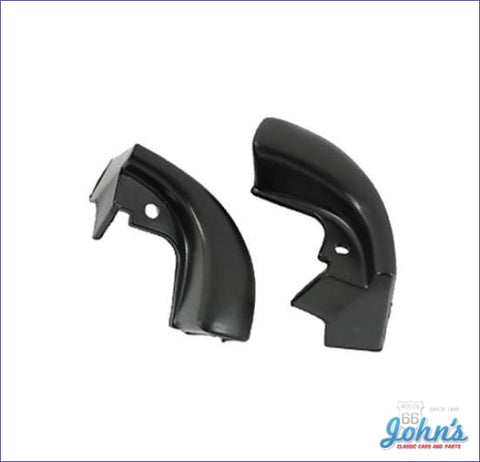 Door Jamb Windlace End Caps 2Dr Hardtop Pair. A