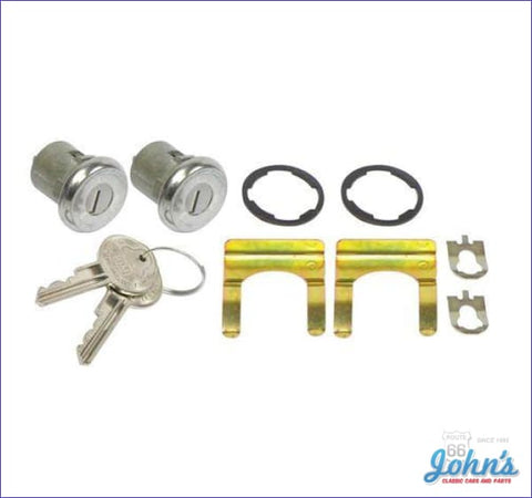 Door Lock Kit With Oe Style Keys A X F1