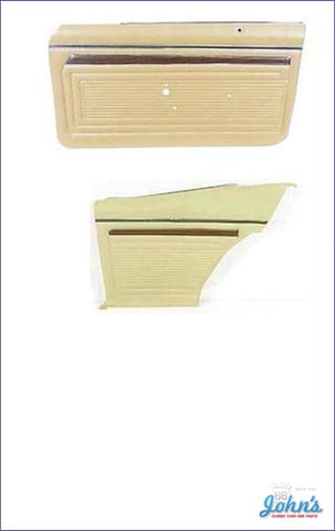 Door Panel Kit Front And Rear - Pre-Assembled. 2Dr Ss Or Custom. Choose Color. (Os1) X