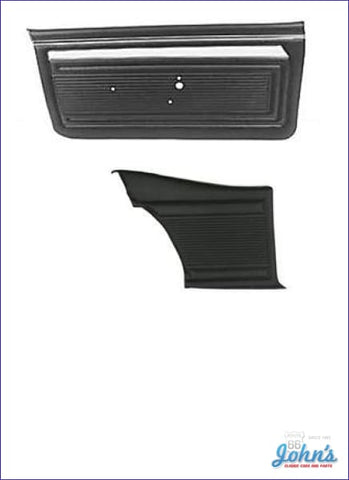 Door Panel Kit Front And Rear - Un-Assembled. 2Dr Ss Or Custom. (Os1) X
