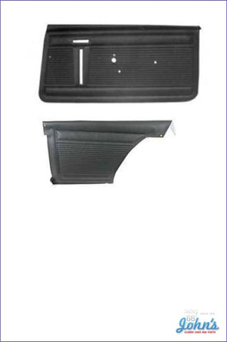 Door Panel Kit Front And Rear - Un-Assembled. 2Dr Standard. (Os1) X