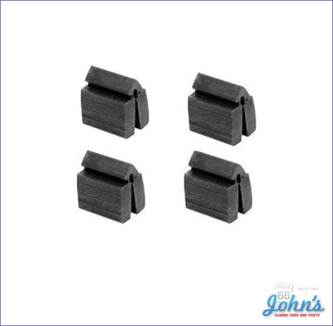 Door Rubber Bumpers - 4Pc X