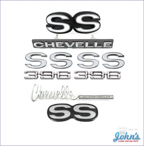 Emblem Kit Ss396- Gm Licensed Reproduction A