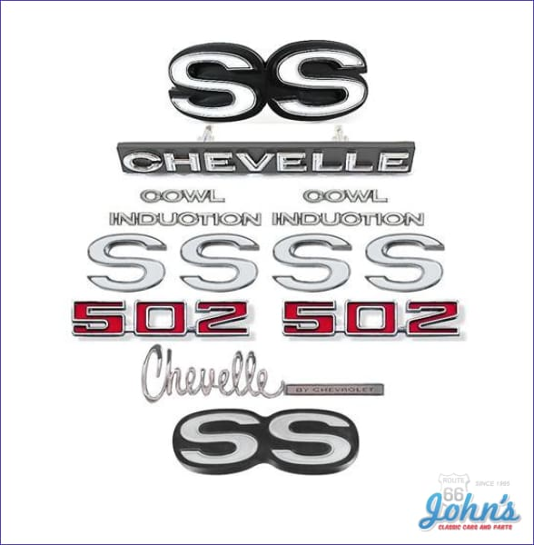 COWL INDUCTION pair Hood sticker decals emblem style logo 2015