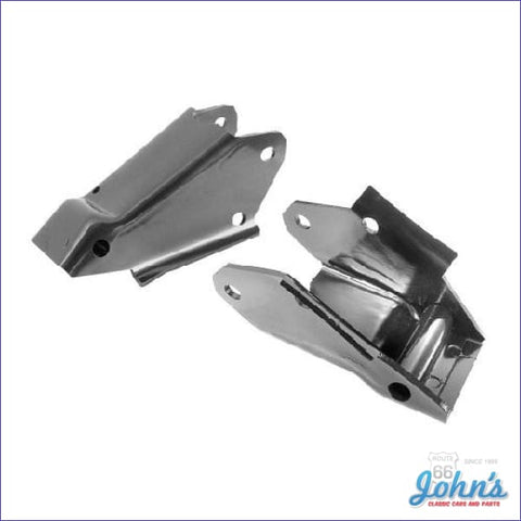 Engine Frame Brackets With 6 Cylinder. Pair X