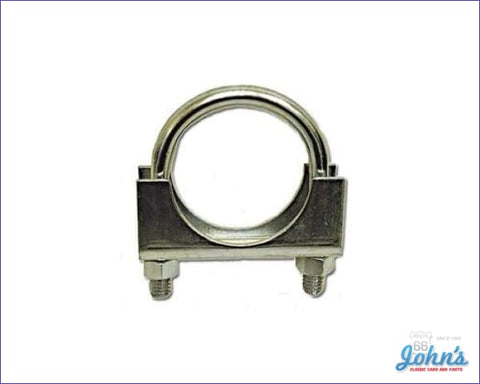 Exhaust Clamp 2 Plated Steel. Each A F2 X F1