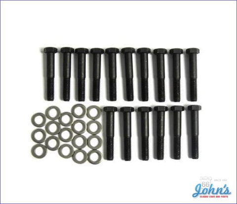 Exhaust Manifold Bolt Kit With Sb. 24 Pc X