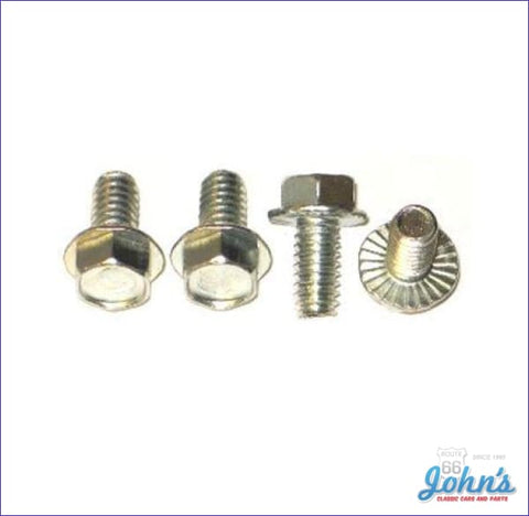 Exterior Door Handle Screws- 4Pc X A F1