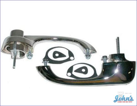 Exterior Front Door Handle Kit - Reproduction X