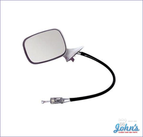 Exterior Mirror Assembly Lh - Remote Gm Licensed Reproductionincludes Mounting Bracket And Gasket X