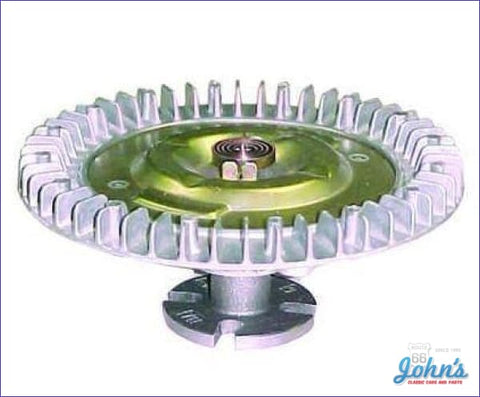 Fan Clutch Sb And Bb With Long Water Pump Thermal Style. Gm A
