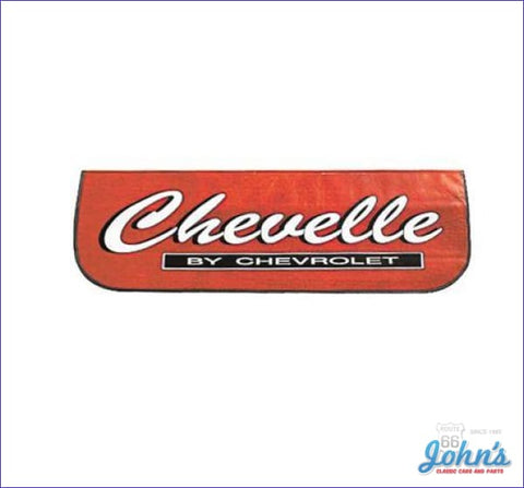 Fender Cover With Chevelle By Chevrolet Logo- Each A