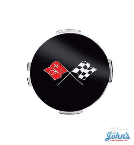 Finned Wheel Cover Emblem - Each. Gm Licensed Reproduction. X