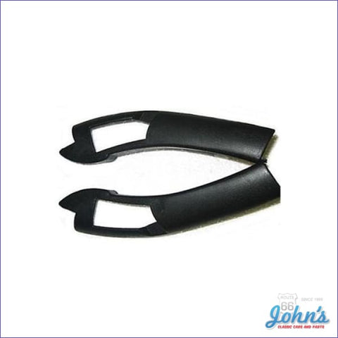 Fisher Type T-Top Rear Molding End Caps Pair F2