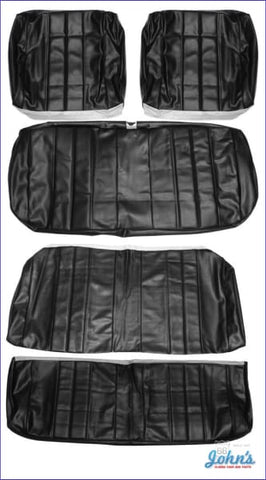 Front And Rear Seat Cover Kit For Convertible With Bench A