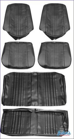 Front And Rear Seat Cover Kit For Convertible With Bucket Seats A