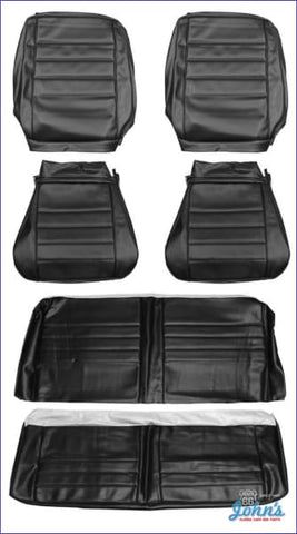 Front And Rear Seat Cover Kit For Coupe With Bucket Seats A