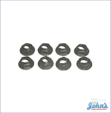 Front And Rear Sidemarker Bezel Hardware Kit 8Pc A F1