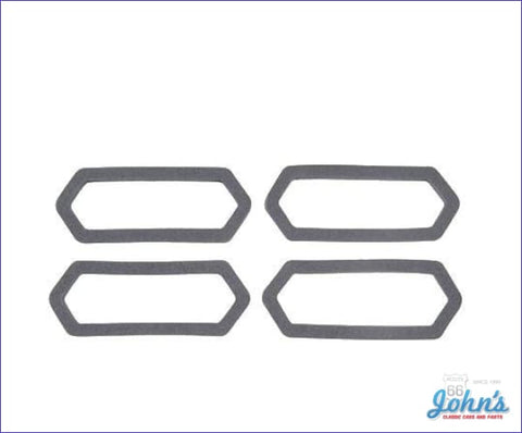 Front And Rear Sidemarker Gasket Kit 4Pc A F1