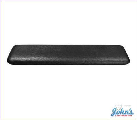 Front Armrest Pad Molded - Black Each A X