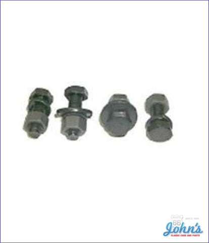 Front Bumper Bracket Hardware Kit 14Pc A