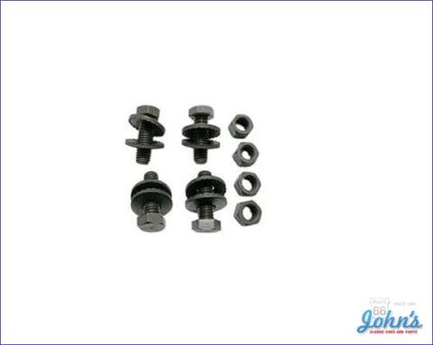 Front Bumper Bracket Hardware Kit 16Pc A