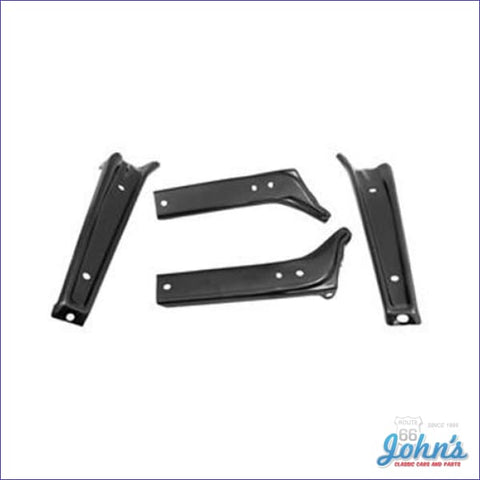 Front Bumper Bracket Kit 4Pc A