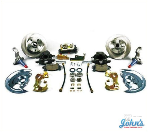 Front Disc Brake Conversion Kit Non-Power With Standard Rotors. (Os2) A X F1