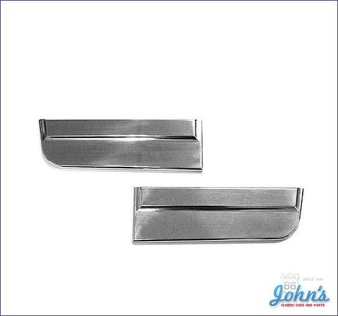 Front Lower Fender Moldings Pair - Ss X