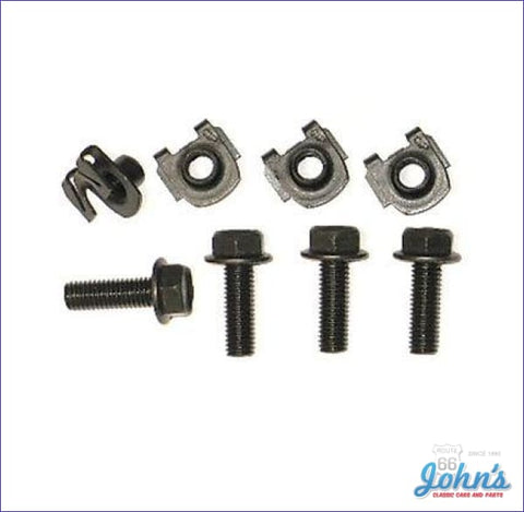 Front Shock Lower Mounting Kit 8Pc A F2 X F1