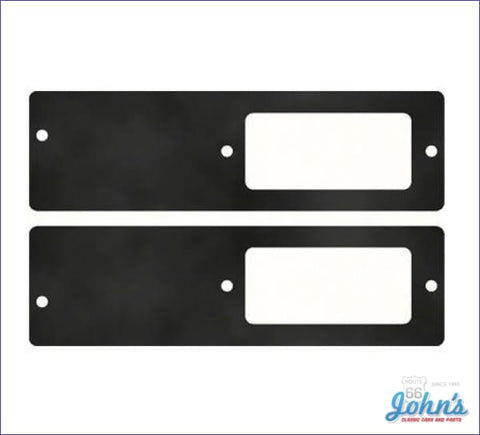 Front Sidemarker Bezel Gaskets For Bezels With Engine Size Pair X A
