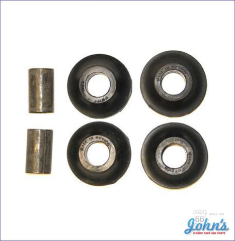 Front Strut Rod Bushing Kit With Metal Sleeve Oe Style X