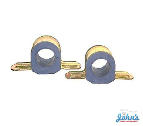 Front Sway Bar Bushing And Bracket Assemblies Polyurethane Use With 1-1/4 Bar- Pair A F2 X F1