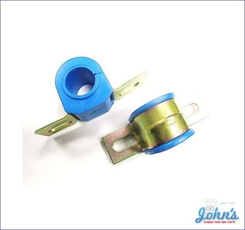 Front Sway Bar Bushing And Bracket Assemblies Polyurethane Use With 1-1/8 Bar- Pair A F2 X F1
