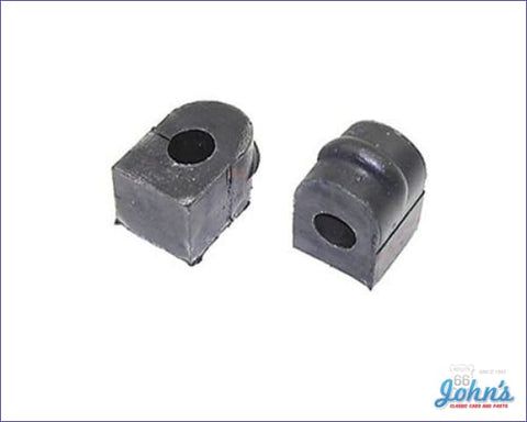 Front Sway Bar Bushings Sb And Bb With 11/16 Bar Oe Correct Pair Gm Licensed Reproduction F1 X