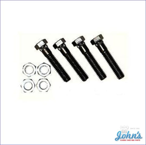 Front Upper Control Arm To Frame Bolt Kit. 8Pc A X F1