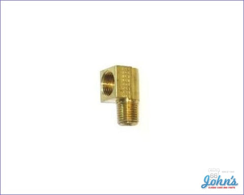 Fuel Pump Fitting 90 Degree 3/8 Line Type A F2 X F1
