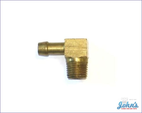 Fuel Pump Fitting 90 Degree 5/16 Hose Type A F2 X F1