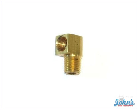 Fuel Pump Fitting 90 Degree 5/16 Line Type A F2 X F1
