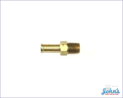 Fuel Pump Fitting Straight 3/8 Hose Type A F2 X F1