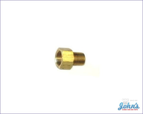 Fuel Pump Fitting Straight 3/8 Line Type A F2 X F1