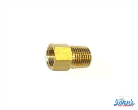 Fuel Pump Fitting Straight 5/16 Line Type A F2 X F1
