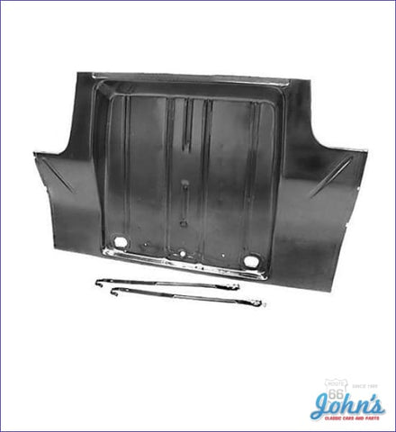 Full Trunk Pan - Includes Center Braces And Gas Tank Straps. (Truck) X
