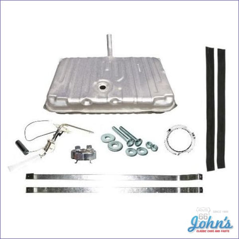 Gas Tank Kit With 3 Vents 2 Line Sending Unit. Gm Licensed Reproduction. (Os7) A