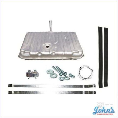 Gas Tank Kit With 3 Vents Without Sending Unit. Gm Licensed Reproduction. (Os7) A