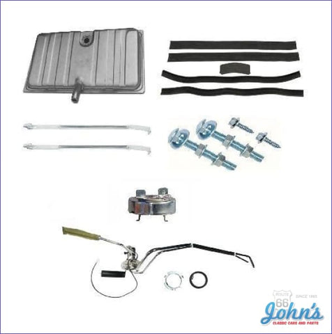 Gas Tank Kit With 3/8 Dual Line Sending Unit. Gm Licensed Reproduction. (Os4) F1