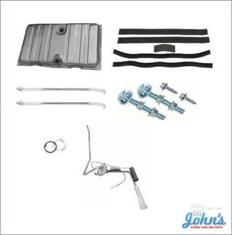 Gas Tank Kit With 3/8 Line Sending Unit. Gm Licensed Reproduction. (Os3) F1